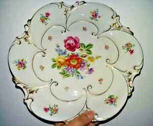 Ilmenau-Graf-fon-Henneberg-Antique-porcelain-plate-Germany-1934-year-ilmenau