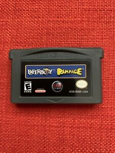 Paperboy-Rampage-Nintendo-Game-Boy-Advance-GBA-Clean-Tested