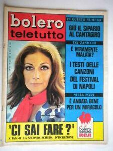 Bolero-1160-Pizzi-Pierangeli-Pavone-Stones-Bardot-Mondaini-Martelli-Zanicchi