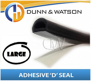 Self-Adhesive-039-D-039-Shape-Seal-Large-Water-amp-dust-protection-Car-Truck