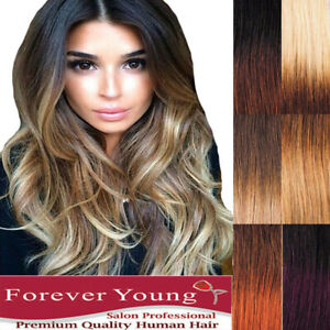 AAA-Clip-in-Real-Thick-Human-Hair-Extensions-Full-Head-100-Ombre-Remy-Hair-UK