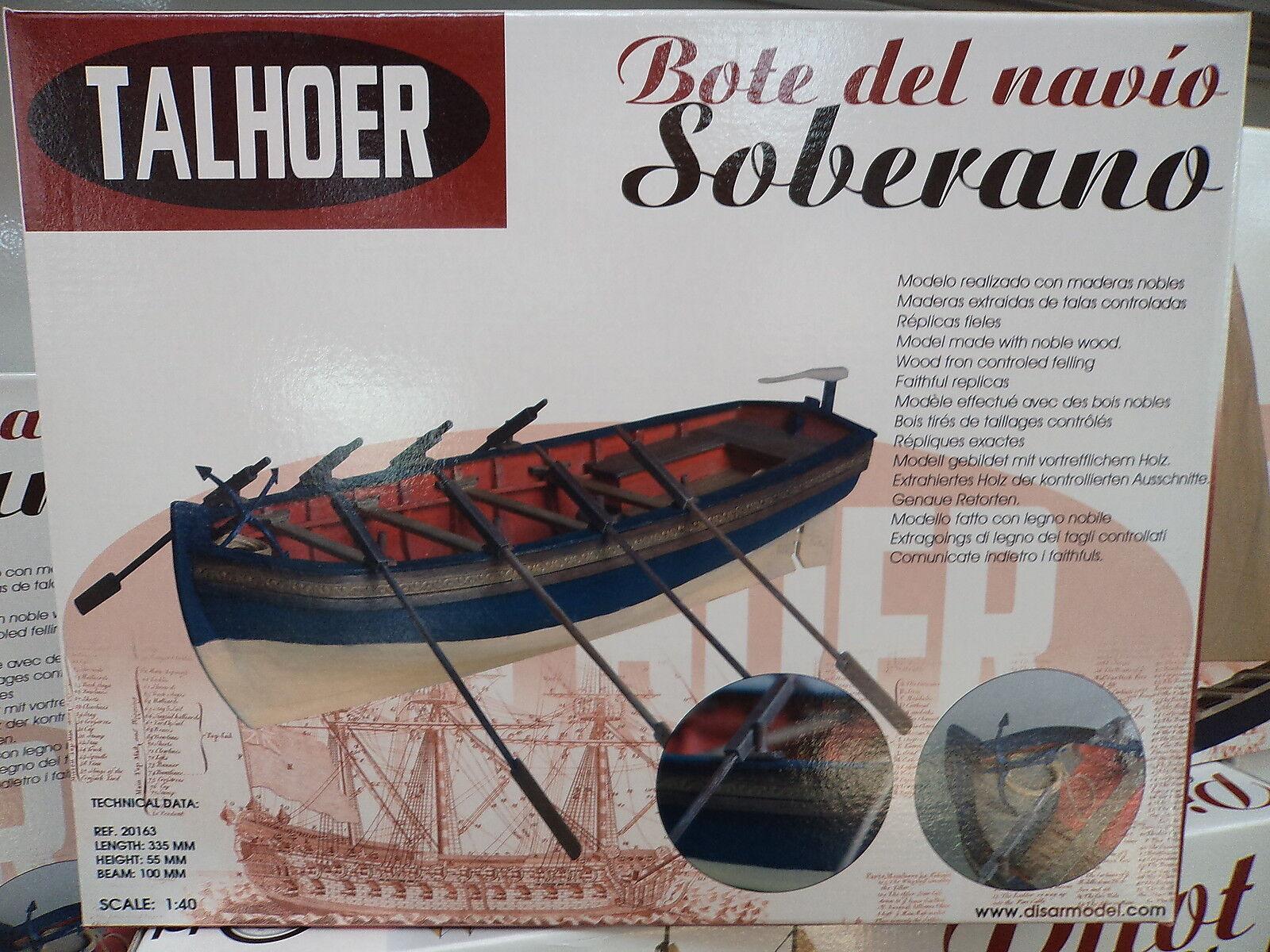 Talhoer 20163 - Kit maqueta bote del navio Soberano