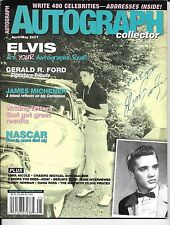 Autograph Collector Magazine April / May 2007  Elvis Presley
