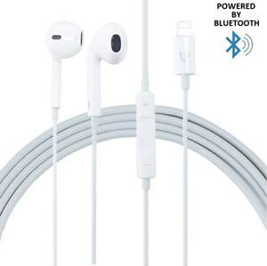 Bluetooth Lightning Earphone Headphones with Microphone