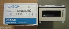 OMRON H7GP-C total counter 6 digit 8,5 personajes gris claro 100 240 VAC