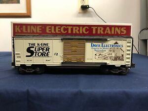 K-line-Super-Store-Davis-Electronics-KSS-O-Scale-Classic-Boxcar-K-910002