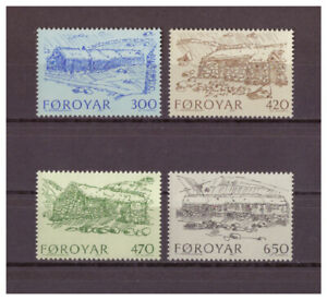 Iles-Feroe-Ancienne-Ponts-Minr-145-148-1987