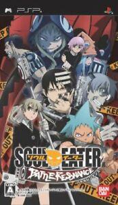Soul Eater Battle Resonance PSP Bandai Sony PlayStation Portable From Japan