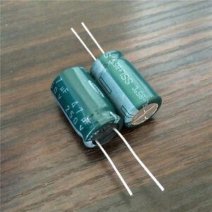 Elektrolyt Kondensator Electrolytic Capacitor 100uF 250V GPF Φ21X40mm Frako NEU