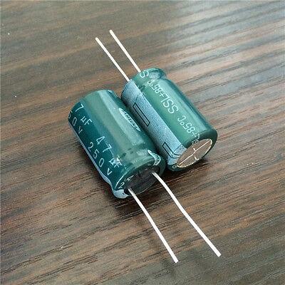 47uf//250v//105c Electrolytic capacitor 5pcs