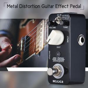 MOOER-BLADE-Metal-Distortion-Guitar-Effect-Pedal-3-Modes-True-Bypass-Full-B3X2