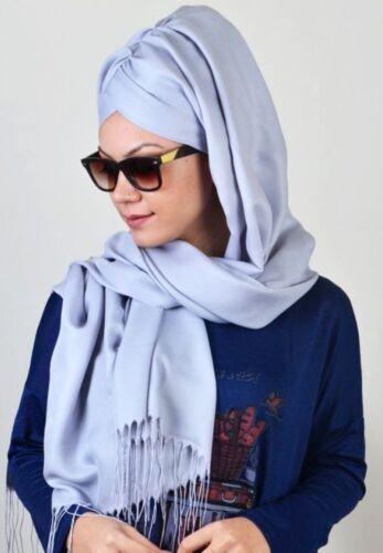615 velo finito Hazir Bone türban Esarp Sal tesettür Hijab Khimar