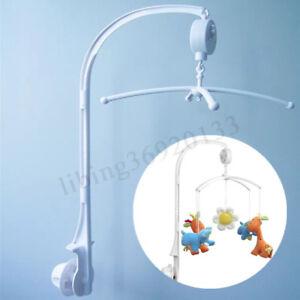 Baby-Crib-Mobile-Bed-Bell-Arm-Holder-Bracket-Wind-up-Clockwork-Music-Box-DIY-Toy