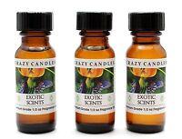 3 Exotic Scents Q (romance Ralph Laure Women Type) 1/2oz Premium Fragrance Oil
