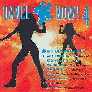 Dance-Now-4-1992-Double-You-Shabba-Ranks-2-Unlimited-KWS-Shamen-2-CD
