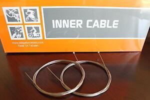 Cocodrilo-De-Acero-Inoxidable-Slick-Shifter-Gear-desviador-Cable-Interno-Para-Shimano