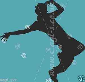 """large dance school Vinyl wall art decal /""""STREET DANCER 2/"""" sticker"""