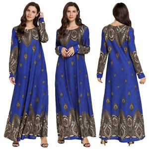 Dubai-Kaftan-Women-Printed-Abaya-Muslim-Cocktail-Party-Maxi-Islamic-Dress-Robe