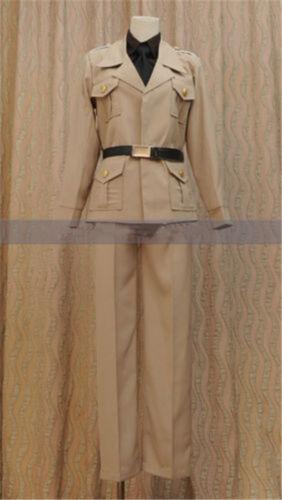 APH Hetalia Axis Powers Rovino Vargas Italy Romano Cosplay Costume Custom Made