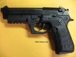 NEW-Recover-Tactical-BC2-Grip-Rail-System-Beretta-92-M9-Series-Pistol-BLACK