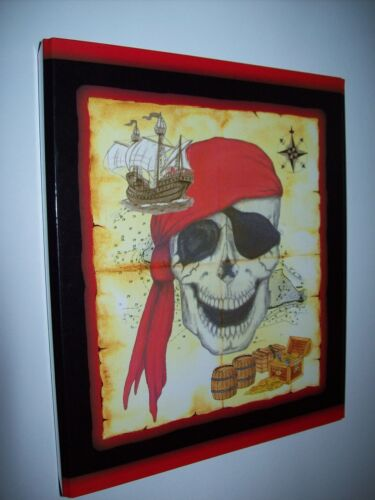 Ordner Briefordner Ringbuch schmal  DIN A 4 Pirat Piraten schmal 5 cm Breite