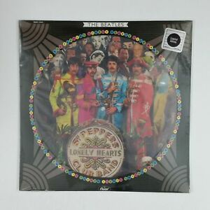 BEATLES-Sgt-Peppers-Lonely-Hearts-Club-Picture-Disc-SEAX11840-LP-Vinyl-SEALED
