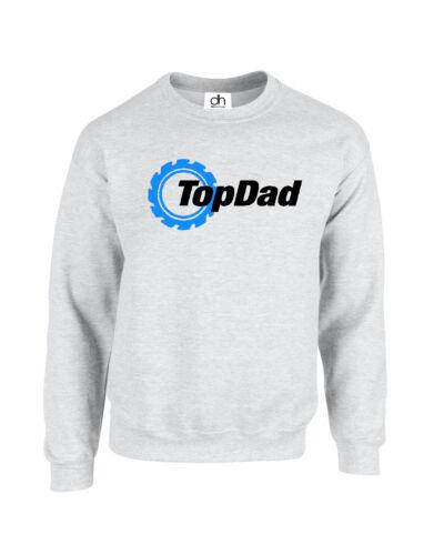 Top Dad Fathers Day Awesome Grandad Walking Gear Jumper TOP DAD, SWEATSHIRT