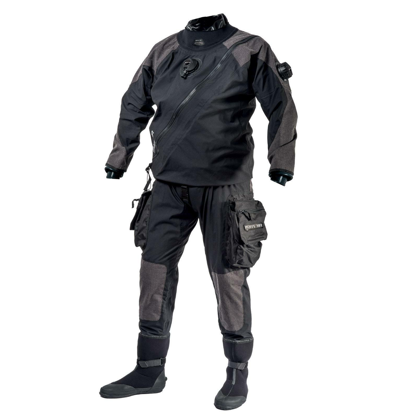 Mares XR Kevlar Diving Dry Suit with Latexmanschetten