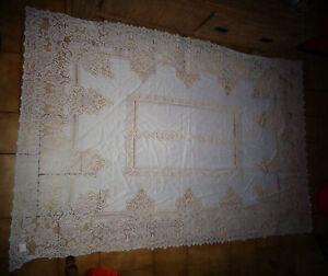 afibel couvre lit Nappe Couvre Edredon Brodé de Lit AFIBEL Polyester Superbe  afibel couvre lit
