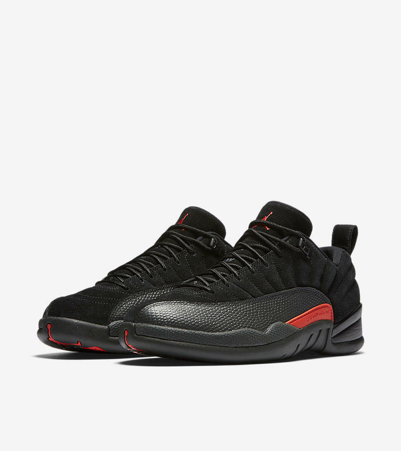 Nike AIR JORDAN XII LOW MAX ORANGE Sz 8.5 (308317-003)