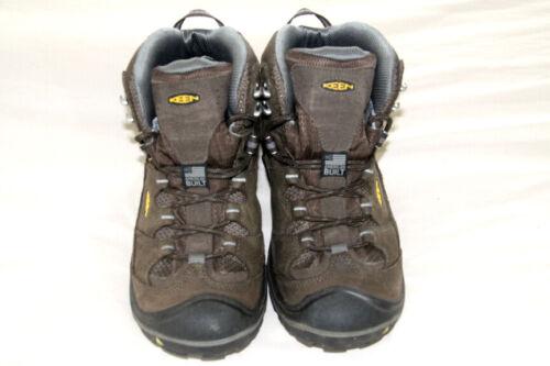 KEEN - Men's Durand Waterproof Hiking Boots. Brown