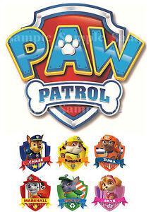 Paw Patrol Rubble Cake Topper