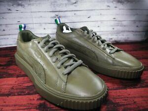 Details about Puma Big Sean Olive Green Breaker Sneaker Leather Tennis Shoe Men Shoe Sz 10.5