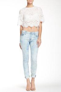 Mid 26 Super Rise Goodtimes Skinny Nico Jeans Jean Hudson Colore Sz IO6xcw