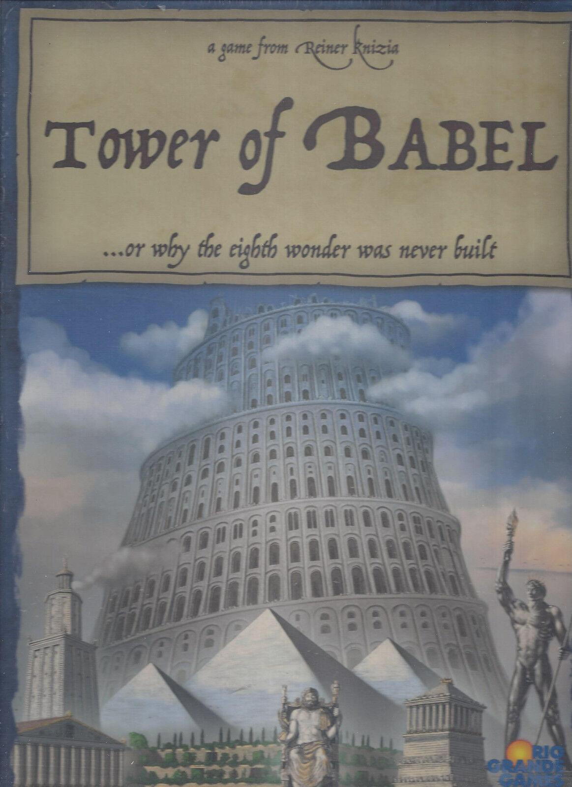 Tower of Babel Board Game NIB   Factory Sealed  Reiner Knizia  FREE SHIPPING