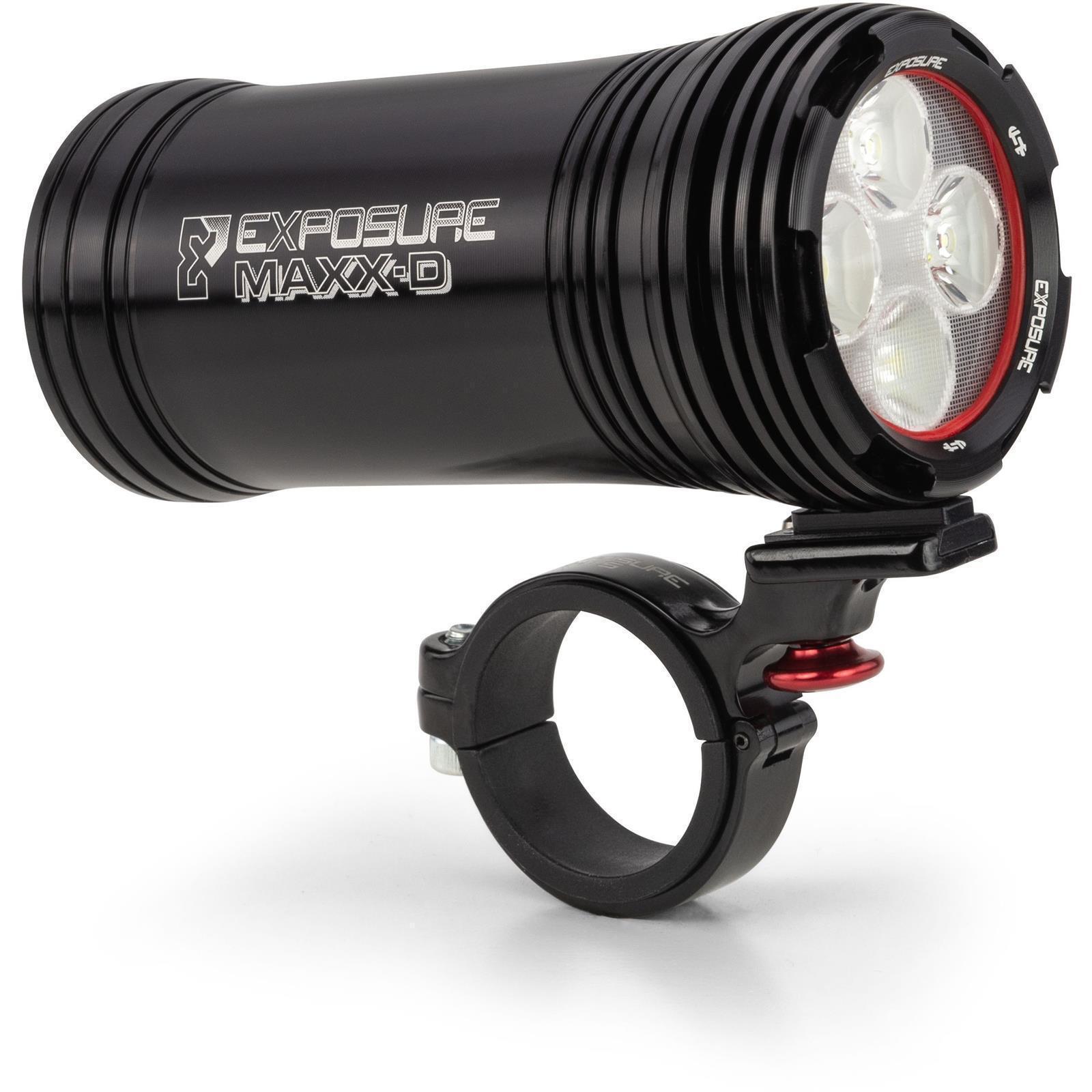 Exposure MaXx-Mk11 delantero Manillar D Bicicleta de montaña luz Etc. - Negro