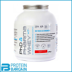 PhD Nutrition Pharma Whey HT+ 908g /2.25kg High Protein Supplement AMAZING PRICE