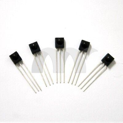 5 Pcs HS0038B HS0038 SIP3 TO-92 IC PCM Infrared Receiver IR Receiver