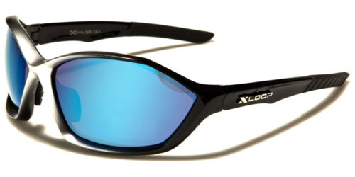 XL2491 NEW Shades Sport X-Loop Wrap Men/'s Driving Blue Green Sunglasses
