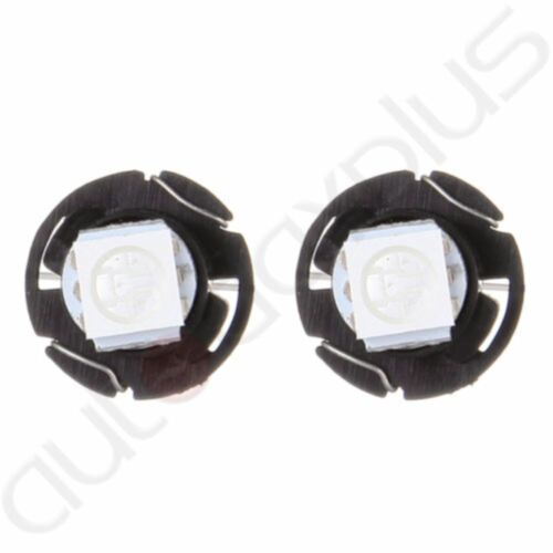 20X Blue T5 Neo Wedge 5050 SMD LED Bulbs A//C Climate Control Light Switch Lamps