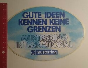 Aufklebersticker Musterring International Gute Ideen Kennen Keine