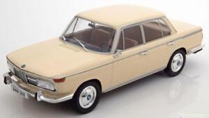 1-18-Model-Car-Group-BMW-2000-tilux-Type-120-1966-creme
