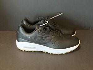 Nike Air Max 1 G Size 9 5 Golf Shoes Black White Gum Brown Aq0863 001 Ebay