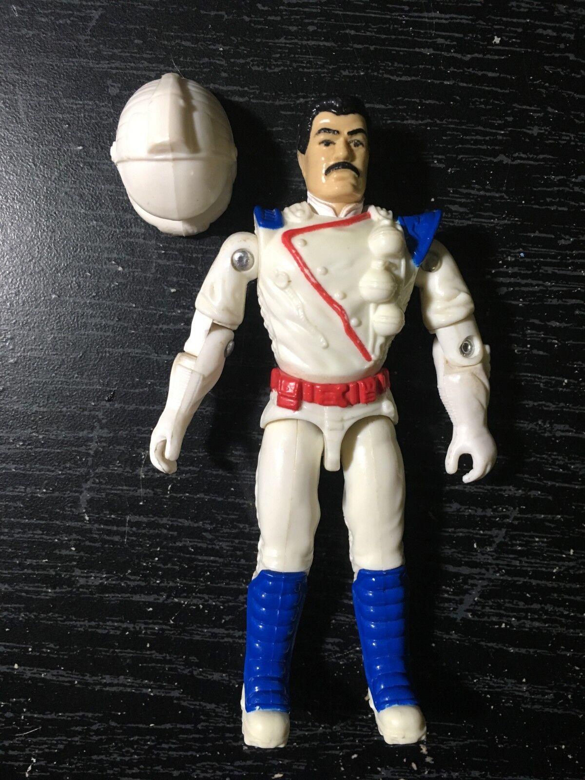 1993 Vintage GI JOE Action Figure SPACE SHOT with helmet C9 3.75  STAR BRIGADE