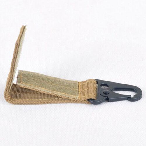 Tactical Belt Keychain Nylon Outdoor Hook Quick Release YuDuI liu12