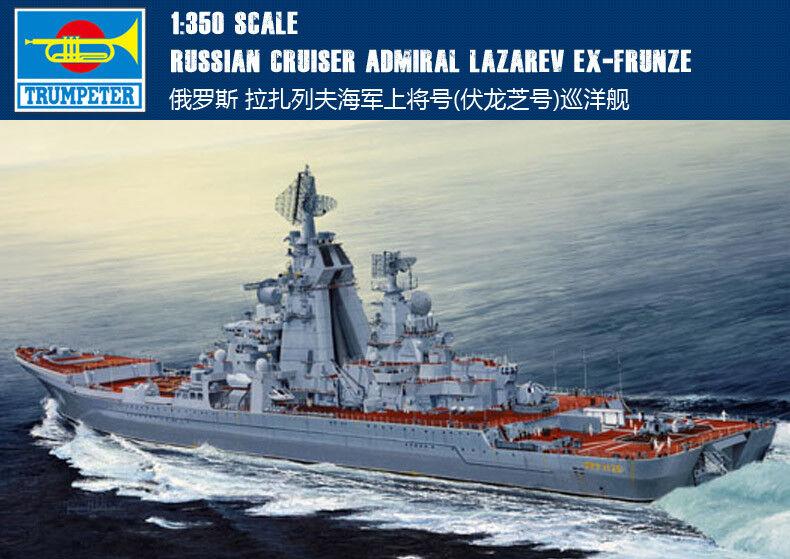 Crucero ruso Almirante Lazarev ex-Frunze 1 350 envío Trumpeter Modelo Kit 04521