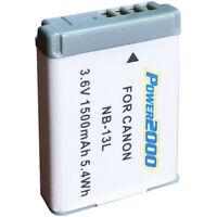 Nb-13l Lithium-ion Battery Pack For Powershot G3x, G5x, G7x, G9x, Sx720, Sx620