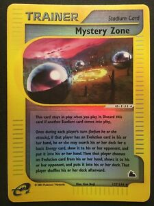 Mystery-Zone-137-144-Skyridge-Reverse-Holo-Pokemon-Card-LP-MP-Looks-Nice