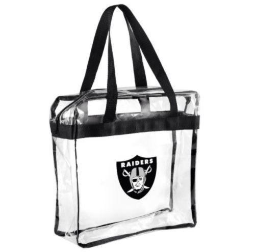 Nfl San Francisco 49ers Clear Zipper Tote Bag 2018 Stadium Roved Ebay