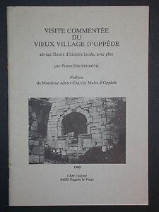 Visite-commentee-du-vieux-village-d-039-Oppede-par-Heckenroth-Histoire-locale-1990